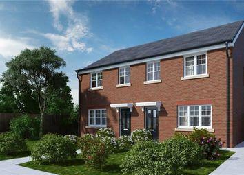 Thumbnail 3 bedroom town house for sale in Vicarage Gardens, Platt Bridge, Wigan, Lancashire