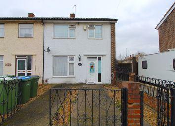 Thumbnail 3 bed end terrace house for sale in Finchale Road, Abbey Wood, London