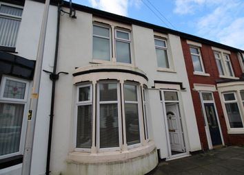 Thumbnail 3 bed terraced house to rent in Clinton Avenue, Blackpool