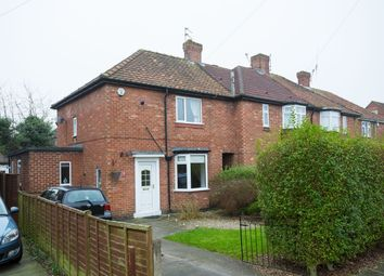 Thumbnail 2 bedroom semi-detached house for sale in Byland Avenue, Huntington Road, York