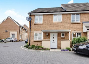 Thumbnail 3 bed semi-detached house for sale in Anderson Close, St. Neots
