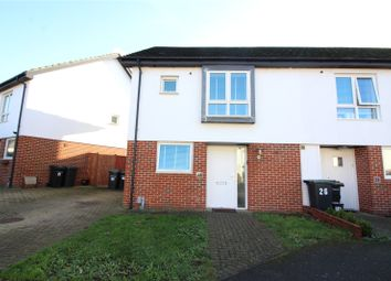 Thumbnail 3 bed end terrace house for sale in Nursery Grove, Gravesend, Kent