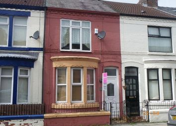 Thumbnail 2 bedroom terraced house to rent in Shaftsbury Terrace, Liverpool