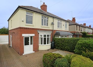 Thumbnail 3 bed semi-detached house for sale in Hunstone Avenue, Meadowhead, Sheffield