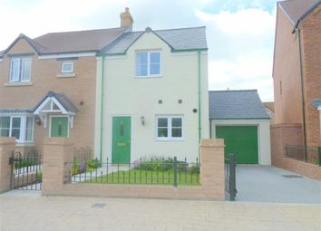 Thumbnail 2 bed semi-detached house to rent in Yardlee Walk, Swindon, Wiltshire
