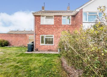 Thumbnail 4 bed semi-detached house for sale in Rogate Close, Sompting, Lancing
