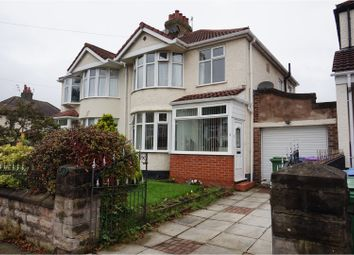 Thumbnail 3 bed semi-detached house for sale in Chalfont Road, Liverpool