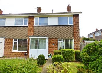 Thumbnail 3 bed semi-detached house for sale in Oxendean Gardens, Willingdon, Eastbourne