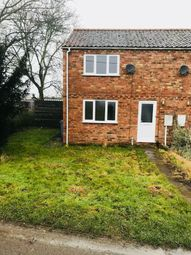 Thumbnail 2 bed semi-detached house to rent in Station Road, Old Leake, Boston