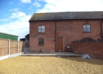 Thumbnail 2 bed barn conversion to rent in Pershall, Eccleshall, Stafford