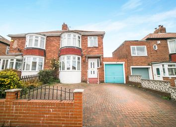 Thumbnail 3 bed semi-detached house for sale in Horsley Gardens, Dunston, Gateshead