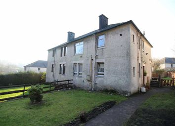 Thumbnail 2 bed flat for sale in Bow Road, Greenock, Renfrewshire