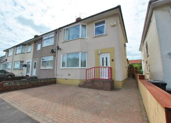 Thumbnail 4 bed end terrace house for sale in Leda Avenue, Hengrove, Bristol