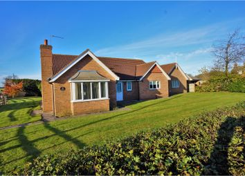 Thumbnail 3 bed detached bungalow for sale in Station Road, Langworth, Lincoln