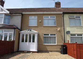 Thumbnail 3 bed terraced house for sale in Alderney Avenue, Brislington, Bristol