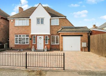 Thumbnail 4 bed detached house for sale in Havencrest Drive, Leicester