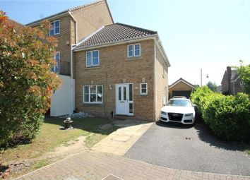 Thumbnail 3 bed end terrace house for sale in Sallow Close, St Marys Island, Chatham, Kent