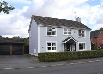 Thumbnail 4 bed detached house for sale in Yew Tree Close, Bramley, Tadley, Hampshire