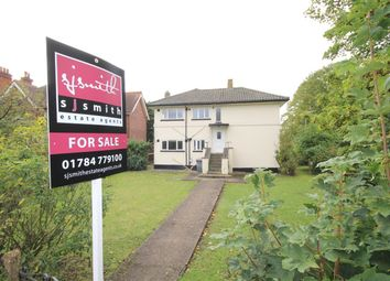 Thumbnail 3 bed flat for sale in Rusham Park Avenue, Egham