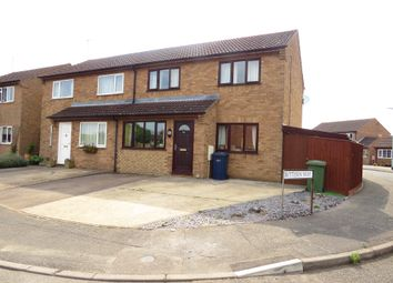 Thumbnail 3 bed semi-detached house for sale in Mallard Way, March