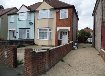 Thumbnail 4 bed semi-detached house for sale in Connaught Avenue, Hounslow