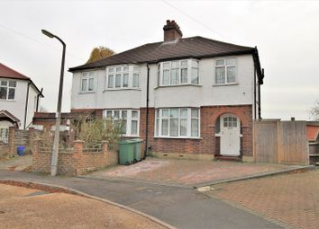 Thumbnail 3 bed semi-detached house for sale in Shrubland Grove, Worcester Park