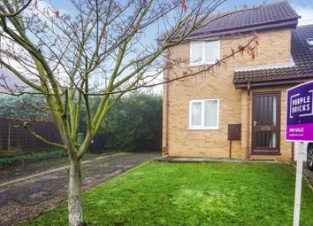 Thumbnail 2 bed semi-detached house for sale in Hazelwood Drive, Grantham