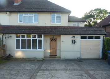 Thumbnail 4 bedroom semi-detached house to rent in Farley Road, South Croydon