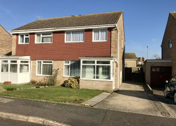 Thumbnail 3 bed semi-detached house for sale in Steeple Close, Weymouth