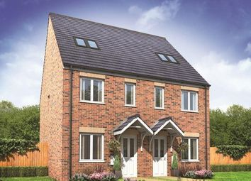 Thumbnail 3 bed end terrace house for sale in Plot 21, Bickleigh, New Horizons, Yaxley, Peterborough