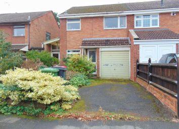 Thumbnail 3 bed semi-detached house for sale in Wakeford Close, Ridge Lane, Nuneaton