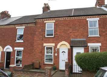Thumbnail 2 bed terraced house for sale in Gorleston, Great Yarmouth, Norfolk