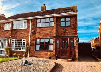 Thumbnail 3 bed semi-detached house for sale in Mill Crescent, Kingsbury, Tamworth