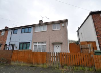 Thumbnail 3 bed end terrace house for sale in Norwood Road, Wallasey