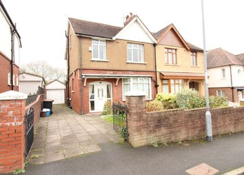 Thumbnail 4 bed semi-detached house for sale in Allt-Yr-Yn Road, Newport
