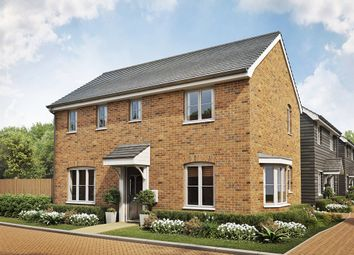 "Thumbnail 3 bed detached house for sale in ""The Clayton "" at Folly Lane, Hockley"
