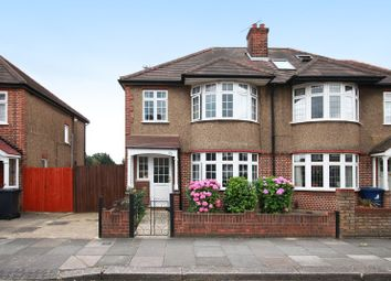 Thumbnail 3 bed semi-detached house for sale in Burnham Way, West Ealing