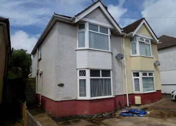 Thumbnail 2 bed semi-detached house to rent in Butts Road, Southampton