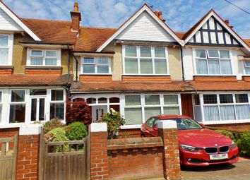 Thumbnail 3 bed terraced house for sale in Brassey Avenue, Eastbourne