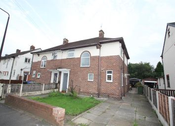 Thumbnail 3 bedroom semi-detached house to rent in Chatsworth Road, Stretford, Manchester