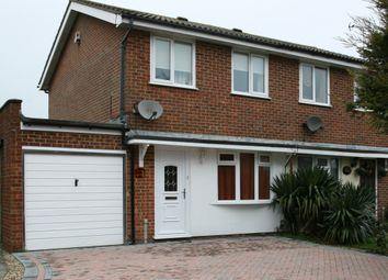 Thumbnail 2 bedroom semi-detached house to rent in Wood Cottage Lane, Cheriton, Folkestone, Kent