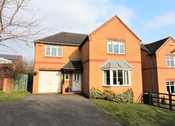 Thumbnail 4 bed detached house for sale in Wessex Drive, Giltbrook, Nottingham
