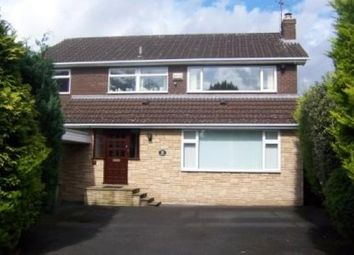 Thumbnail 4 bed detached house to rent in Dawstone Road, Heswall, Wirral