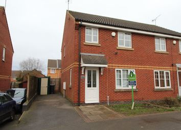 Thumbnail 3 bed semi-detached house for sale in Spencer View, Ellistown, Coalville