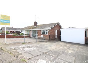 Thumbnail 2 bed semi-detached bungalow for sale in St. Georges Drive, Caister-On-Sea, Great Yarmouth