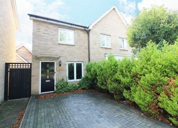 Thumbnail 2 bed semi-detached house for sale in Coneygear Court, Huntingdon