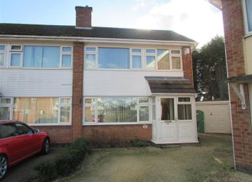 Thumbnail 3 bed semi-detached house to rent in Lomond Close, Tamworth, Staffordshire