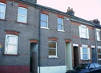 Thumbnail 3 bed terraced house to rent in Baker Street, South Luton, Luton