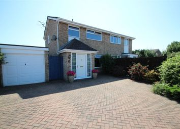 Thumbnail 3 bed semi-detached house for sale in Hardwick Close, Rushmere St Andrew, Ipswich, Suffolk
