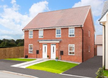 "Thumbnail 3 bed semi-detached house for sale in ""Finchley"" at Acacia Way, Edwalton, Nottingham"